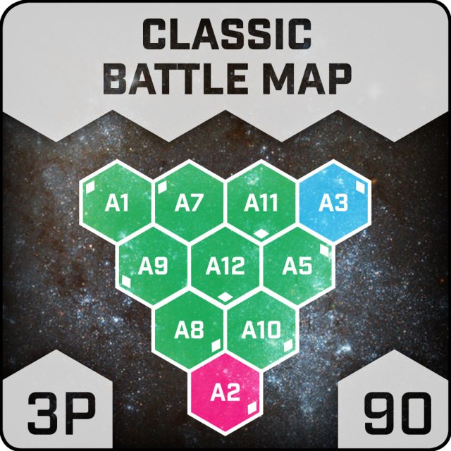 Classic Battle Map 3P