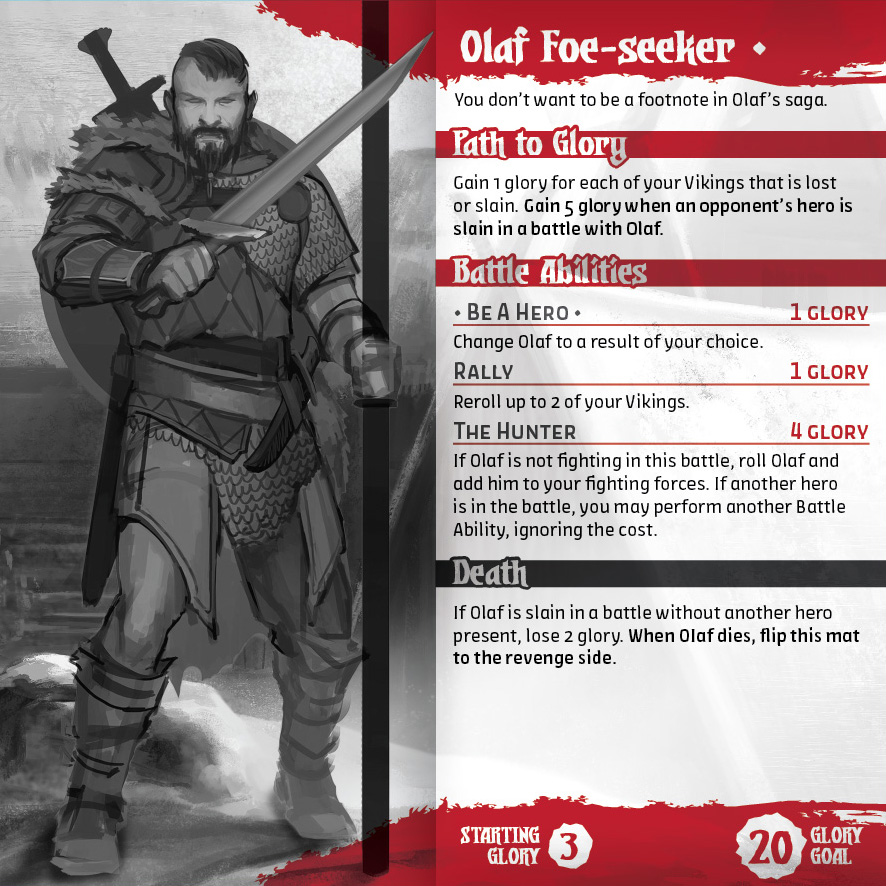Olaf Foe-seeker Rough